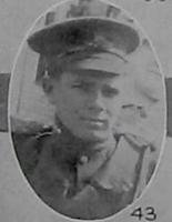 Photo of ROBERT HOPE TEMPLE– Gunner R H Temple 63rd Battery from the December 1918 editon of The Echo published in London Ontario. --And in the Morning