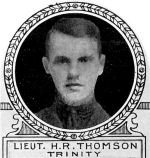 Photo of Henry Thomson– From: The Varsity Magazine Supplement Fourth Edition 1918