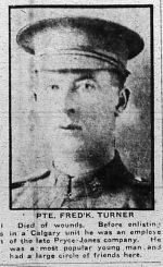 Newspaper Clipping– Clipping from Calgary Daily Herald May 13, 1916