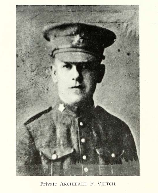 Photo of ARCHIEBALD FLEMING VEITCH