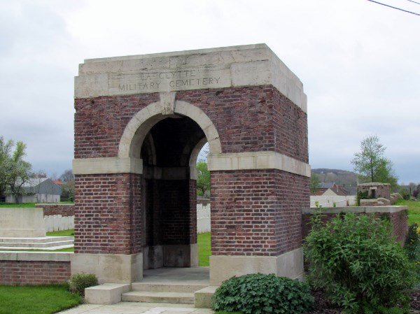 La Clytte Millitary Cemetery