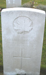 Grave Marker– Courtesy Keith Boswell, England