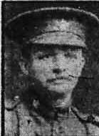 Photo of William Knott– Photo from the Calgary Daily Herald May 1, 1916.