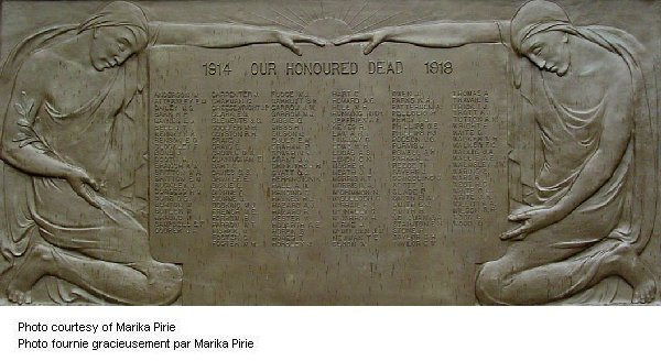 1914-1918 Memorial Plaque