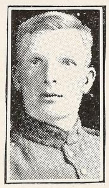 Photo of JOHN HADLEY– Photo from the National Memorial Album of Canadian Heroes c.1919. Submitted for the project, Operation: Picture Me.