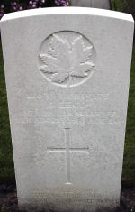 Grave Marker– Photo courtesy of Wilf Schofield, England.