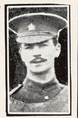 Photo of WILLIAM ROBB PAUL– Photo from the National Memorial Album of Canadian Heroes c.1919. Submitted for the project, Operation: Picture Me.