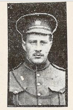 Photo of FREDERICK CHARLES SWAIT– Photo from the National Memorial Album of Canadian Heroes c.1919. Submitted for the project, Operation: Picture Me.