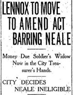 Newspaper Clipping– Part 1 of a clipping from the Toronto Star for 20 March 1915.