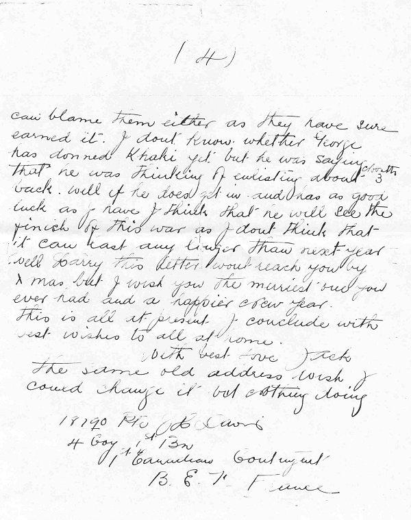 Letter from John Davis - p. 4