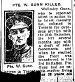 Newspaper Clipping (2)– From the Toronto Star for 29 February 1916.