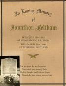 Memorial scroll– A memorial scroll found in the Eastport Legion