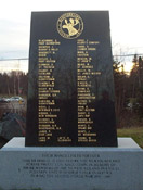 Newfoundland Forestry Unit's monument– Newfoundland Forestry Unit's monument in Grand Falls / Windsor, NF