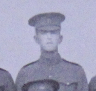 Photo of Frederick Tupper– Served with the 35th Battalion CEF. Submitted for the project, Operation: Picture Me