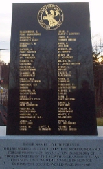 Monument– Edmund W. Hayley is commemorated on the Newfoundland Forestry