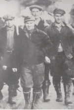 Forestry Corps– Edmund (not found in this photo) was a member of the Forestry Corps, some of whom are pictured here.