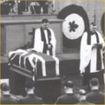 Funeral– Photo courtesy of the National Archives of Canada, C149889.