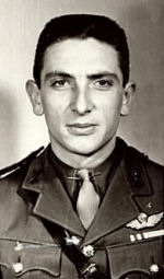 Flying Officer Eugene Doral Payne– Flying Officer Eugene Doral Payne in service uniform.