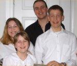 Photo of Ronald Rolston– Photo of Ron's grandchildren: Ronald, Scott, Jennifer and Colleen.