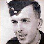 Photo of Ronald George Howe Rolston– F.O. Ron Rolston circa 1954