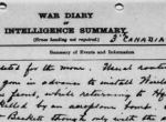 War Diary– War Diary, 3rd Divisional Signal Company, October 21, 1917