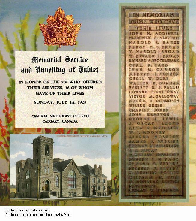 Central Methodist Montage