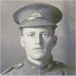 Photo of Alexis LeBeau– This photo is of Alexis LeBeau in his Canadian Overseas Expeditonary Force uniform