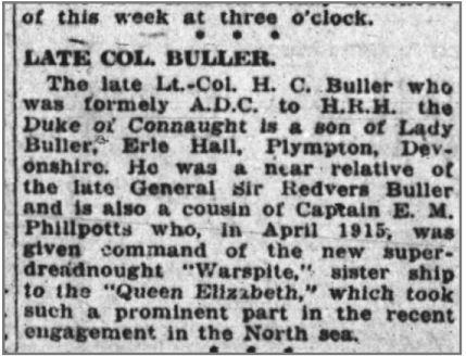 Newspaper Clipping– Ottawa Journal (June 7, 1916)