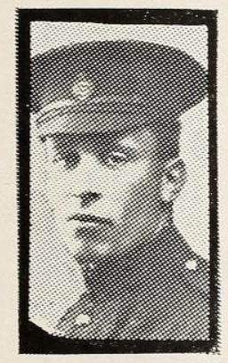 Photo of ROGER CROOK PEPLER– Photo from the National Memorial Album of Canadian Heroes c.1919. Submitted for the project, Operation: Picture Me.
