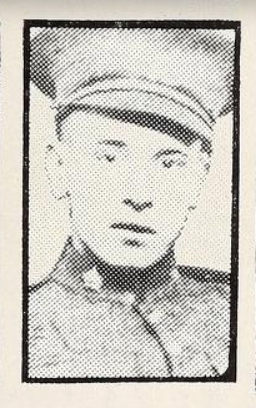 Photo of SYDNEY ARTHUR REID– Photo from the National Memorial Album of Canadian Heroes c.1919. Submitted for the project, Operation: Picture Me.
