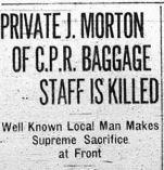 Coupre de presse – Calgary Daily Herald 4 mai 1916