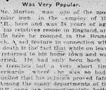 Newspaper clipping– Clipping from Calgary Daily Herald May 4, 1916