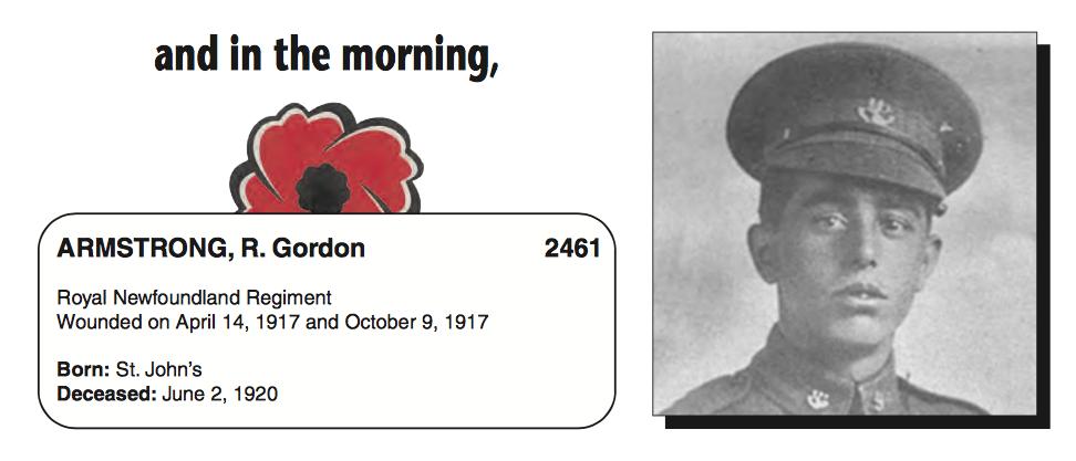 Photo of GORDON ARMSTRONG