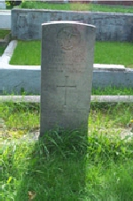 Gravestone of Alan Hancock– Son of George and Elizabeth Hancock of Bonavista, Newfoundland         Husband of Mrs. Alan Hancock of St. John's. Buried at The General Protestant Cemetery, St. John's, Newfoundland