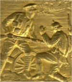 Badge– Unknown badge commemorating the 2nd Battle of Ypres April 1915