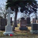 St. John's (Norway) Cemetery– General view of the Bate family memorial in St. John's (Norway) Cemetery, Toronto, Ontario.