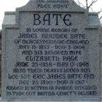 Inscription– Inscription with dedication to Eric James Bate.