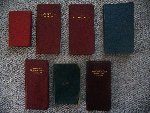 The Bate family journals– Bate Family journals that cover 1898, 1908-1913.