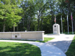 War Memorial– The War Cenotaph in Shallow Lake, Ontario, Canada.