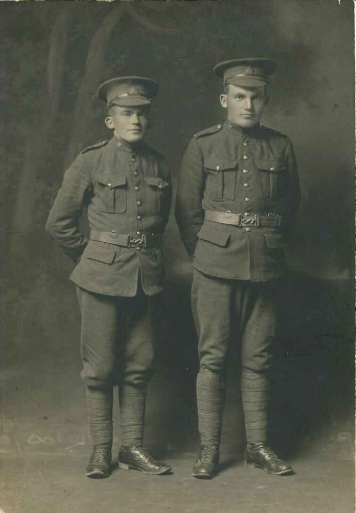 Group Photo– John Henry Blythe (left) and George James Blythe (right)