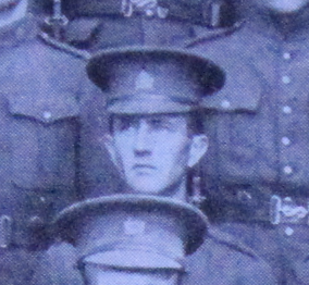 Photo of Ormand Robert Bowman– Enrolled with the 37th Battalion CEF. Submitted for the project, Operation: Picture Me