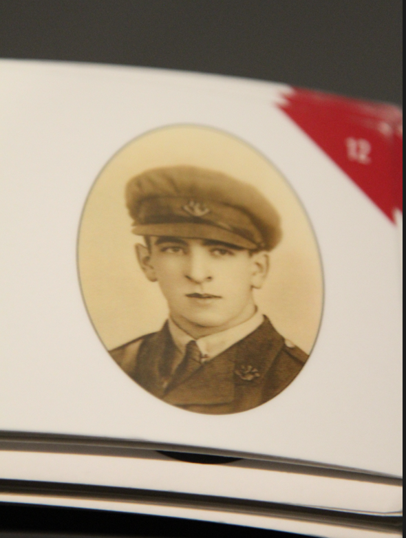 Photo of LIONEL THOMAS DULEY– In memory of the men and women from Newfoundland who went away to war and did not come home. From the  Rooms Archives and Museum St Johns Newfoundland. Submitted for the project, Operation Picture Me