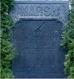 Memorial– Marsh family memorial, Hamilton Cemetery, Hamilton, Ontario.