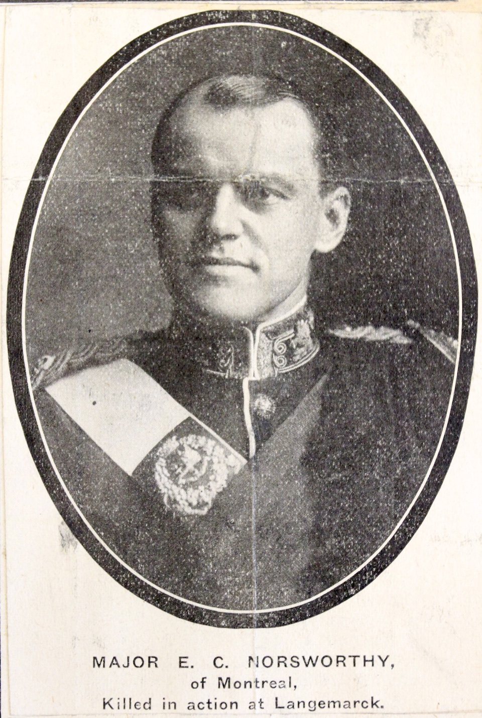 Photo of EDWARD CUTHBERT NORSWORTHY– Submitted for the project Operation Picture Me. From the Annie Boyes collection courtesy of the Simcoe County Archives. http://www.simcoe.ca/dpt/arc