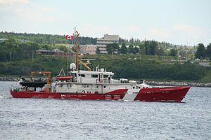 CCGS Private Robertson VC hero class Coast Guard ship
