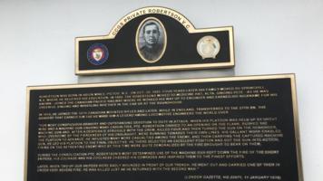 Memorial– CCGS Private Robertson VC hero class Coast Guard ship
