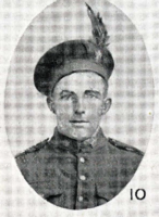Photo of NORMAN BAGNELL THORNEYCROFT– In memory of the men who joined the 185th Battalion (Cape Breton Highlanders) who went to war and did not come home. Submitted for the project, Operation Picture Me