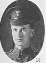 Photo of ARTHUR WILLIAM BARNETT– In memory of the men who served with the 87th Battalion CEF. Submitted for the project, Operation: Picture Me