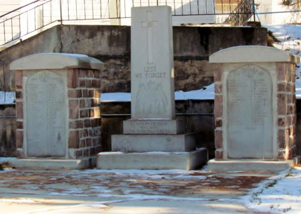 Cenotaph Cobalt Ontario