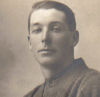 Photo of Samuel Charles Mitchell– Born in 05/06/1893 in England. He moved with his family to Manitoba Canada in 1907.  He died in WWI July 26, 1917 at the age of 24